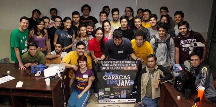 Saludos desde el Caracas Game Jam 2012
